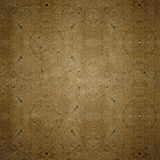 Brown craft vintage paper cardboard texture. Royalty Free Stock Images