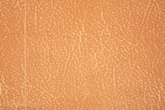 Brown cream leather texture Royalty Free Stock Photos