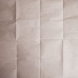 Brown crease paper texture Stock Images