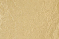 Brown crumpled paper. Texture background Royalty Free Stock Photography