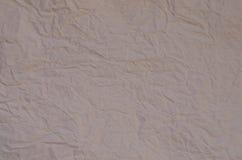 Brown crumpled paper Stock Image