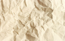 Brown crumpled paper texture. Brown crumpled paper texture background Stock Image