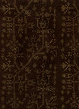 Brown Cryptic Designs Paper Royalty Free Stock Image