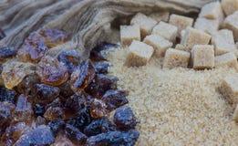 Brown cukier Zdjęcie Stock