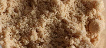 Brown cukier Fotografia Stock