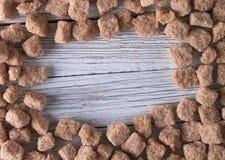 Brown cukier Obraz Stock