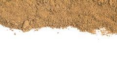 Brown cukieru rama obrazy stock
