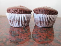 Brown Cupcakes. Stock Images