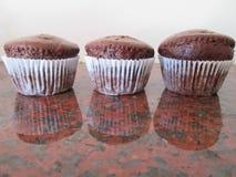 Brown Cupcakes. Royalty Free Stock Photos