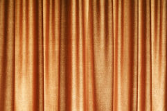 Brown Curtain Pattern Stock Photo