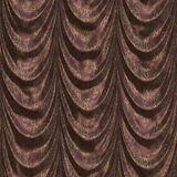 Brown curtain with pattern Royalty Free Stock Photography