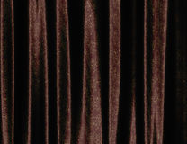 Brown curtain with pattern Stock Image