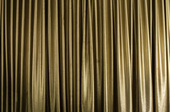 Brown curtain Stock Image