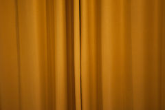 Brown Curtain Royalty Free Stock Photography