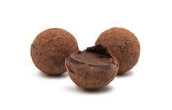 Brown czekoladowa trufla Obrazy Stock