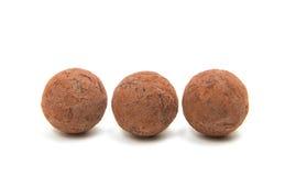 Brown czekoladowa trufla Zdjęcie Stock