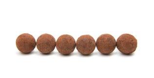Brown czekoladowa trufla Obraz Stock