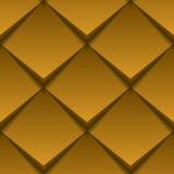 Brown dachówkowa bezszwowa tekstura Zdjęcia Stock