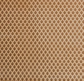 Brown damask background. Royalty Free Stock Image