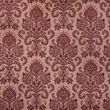 Brown damask floral pattern Royalty Free Stock Image