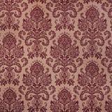 Brown damask floral pattern royalty free stock image
