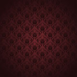 Brown Damask Pattern Stock Image