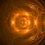 Brown and dark abstract fractal wallpaper with different and many shapes. Abstract background with different forms and different colors for any purposes stock illustration