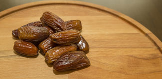 Brown dates Royalty Free Stock Photography