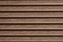 Brown deck Stock Photo