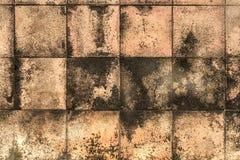 Brown deckt Muster mit Ziegeln Lizenzfreie Stockfotografie