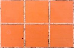Brown deckt Muster mit Ziegeln Lizenzfreies Stockbild
