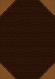 Brown decorative background Royalty Free Stock Photography