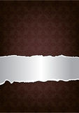 Brown decorative background Stock Image