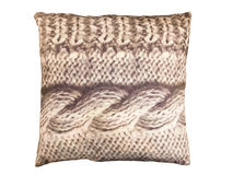 Brown decorative pillow Stock Images