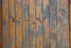 Brown desek drewniana tekstura w ścianie zdjęcia stock