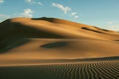 Brown Desert Stock Photo