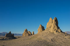 Brown Desert Rock Formations Stock Photos