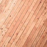 Brown deski drewna ściany tło Zdjęcia Royalty Free