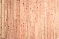 Brown deski drewna ściany tło Obrazy Stock