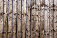 Brown deski wzoru tekstury drewniany tło Obrazy Royalty Free