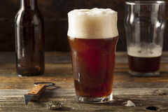 Brown di rinfresco Ale Beer fotografia stock libera da diritti
