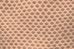 Brown diamond shape wall background Royalty Free Stock Image