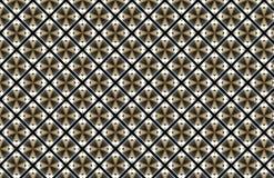 Brown Diamond Square Abstract Pattern Design bianco illustrazione vettoriale