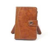 Brown diaries Stock Image