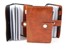Brown Diaries Stock Photos