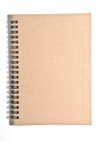 Brown diary Stock Photo