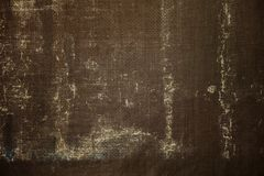 Brown Dirty Canvas. Background Illustration Stock Image