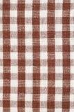 Brown dish towel pattern Stock Image