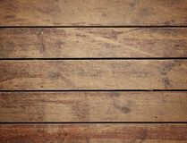 Brown distressed wood Royalty Free Stock Image