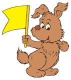 Brown Dog (vector clip-art). Vector clip-art / children's illustration for your design Royalty Free Stock Images